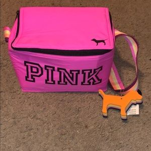 Brand new PINK lunch box